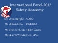 2012 CPSC Safety Academy: International Panel