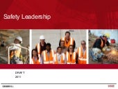 Safety leadership   what does that ...