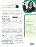 Sage 300 ERP - What's New in 2012