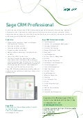 Sage CRM Professional (Cloud)