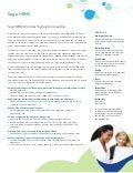 Sage HRMS HR Actions by Delphia Consulting Feature Sheet