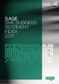 Sage SME Business Sentiment Index 2011