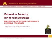 Extension Forestry in the US: Maste...