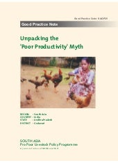 Unpacking the 'Poor Productivity' Myth - Women Resurrecting Poultry Biodiversity and Livelihoods in Andhra Pradesh, India (SAGP25)