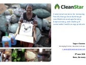 CleanStar Mozambique: A commercial case study of sustainable food and biofuel production with smallholder farmers