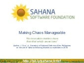 Sahana Software Foundation Overview...