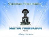 Sahyog foundation-corporate present...