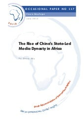 The Rise of China's State-Led Media...