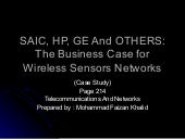 SAIC, HP, GE and Others. Wireless S...