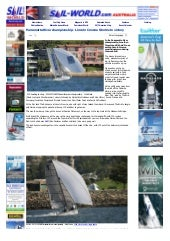 Sail world.com : parramatta river c...