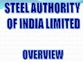 SAIL-Steel Authority Of India Overview