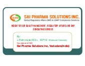 Sai pharma solutions inc  scientifi...