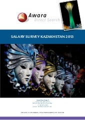 Salary Survey Kazakhstan 2013