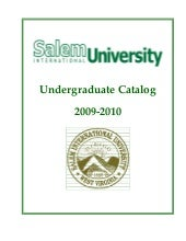 Salem International University Unde...