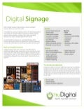 Cloud-Based Digital Signage by truDigital