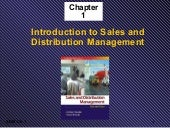 Salesanddistribution