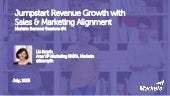 Jumpstart Revenue Growth with Sales and Marketing Alignment