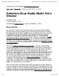 Salesforce buys buddy media  not a shocker
