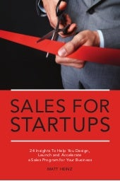 Sales for Startups