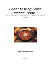 Salsa Recipes Traverse Bay Farms