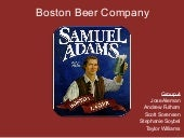 Boston Beer Company Valuation
