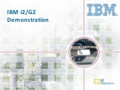 Sample - Extending IBM i2 Analysis with G2 Research