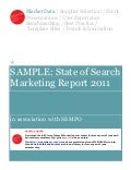 Sample state-of-search-marketing-report-2011