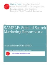 Sample SEMPO State of Search Market...