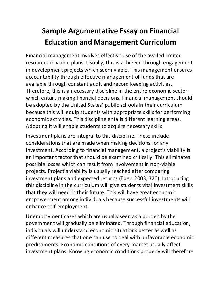 Doc.#19681391: Sample Essay on Education – Education essay samples ...