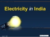 Electricity in India: Power Generat...