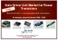 Gate Driver Unit Market for Power Transistors 2014 Report by Yole Developpement