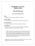 Washington's Lottery Business Plan