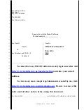 Sample trial brief for California civil case