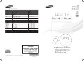 Samsung TV LED Série 5500 Manual de...