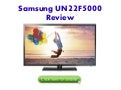 Samsung UN22F5000 Review - 22-Inch 1080p 60Hz Slim LED HDTV
