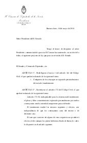 Sancion diputados matrimonio