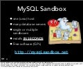MySQL Sandbox quick demo