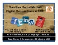 Sandbox social media for early childhood  educators by fran simon