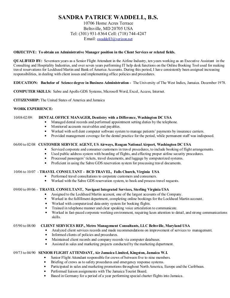 Air Flight Attendant Sample Resume » 7+ Flight Attendant Resume