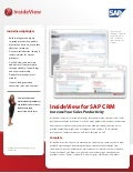 SAP CRM 2011 - Sales Intelligence