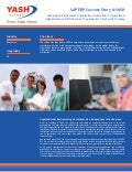 Leading Medical Research Organization Utilizes SAP For Operational Independence and Efficiency