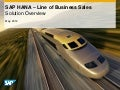 SAP HANA for Line of Business Sales