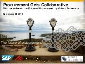 Future of Procurement: Procurement Gets Collaborative webinar