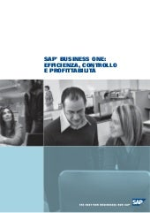Sap Business One 2007 Brochure