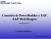 Sesión 06: SAP y Power Builder