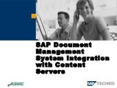 SAP Document Management System Inte...