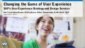 Changing the Game of SAP User Exper...
