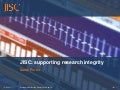 Sarah Porter - Supporting Research Integrity