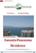 Apartamente per shitje ne Sarande - Saranda Panorama Residence