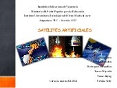 Satelites artificiales